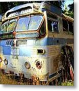 Transit Bus2 Metal Print