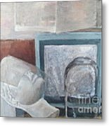 Transparacy Metal Print by Delores Swanson