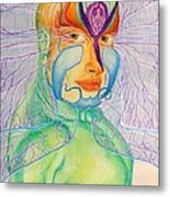 Transparency  Metal Print by Isaac Lopez