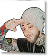 Travie Mccoy Metal Print