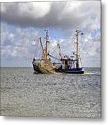 trawler - Sylt Metal Print by Joana Kruse