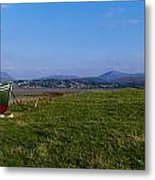 Trawler At Magheraroarty, Co Donegal Metal Print