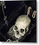 Treasure Chest Metal Print by Joana Kruse