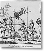 Treaty Of Paris, 1783 Metal Print