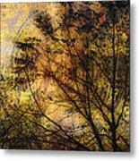 Tree Stamp Metal Print
