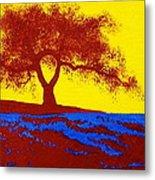 Tree Study 1 Metal Print