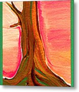 Tree Trunk Metal Print