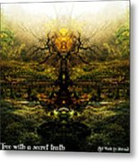 Tree With A Secret Truth Metal Print