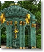 Trellis At Schloss Sanssouci Metal Print