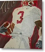 Trent Richardson Alabama Crimson Tide Metal Print