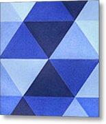 Triangles B8001 Metal Print