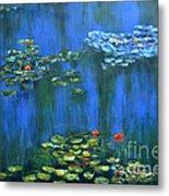 Tribute To Monet 1 Metal Print