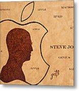 Tribute To Steve Jobs Metal Print