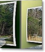 Trike Wave - Gently Cross Your Eyes And Focus On The Middle Image Metal Print
