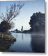 Trim Castle Along Banks Of The River Metal Print