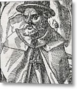 Tristao Da Cunha, Portuguese Explorer Metal Print by Middle Temple Library