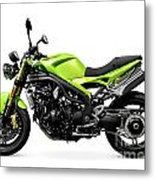 Triumph Speed Triple Motorcycle Metal Print