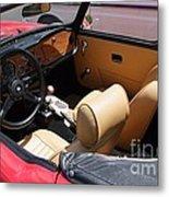 Triumph Tr6 Seats Metal Print