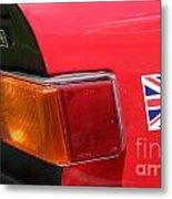 Triumph Tr6 Tail Light Metal Print