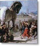 Trojan Horse Metal Print