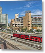 Trolley To Petco Park Metal Print