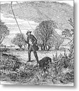 Trolling For Jack, 1850 Metal Print
