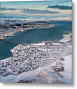 Tromso City Metal Print