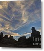 Trona Pinnacles 6 Metal Print