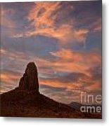 Trona Pinnacles 8 Metal Print