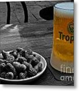 Tropical Beer Metal Print
