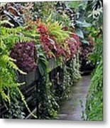 Tropical Bush Metal Print