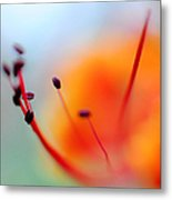 Tropical Delight. Natural Watercolor Metal Print