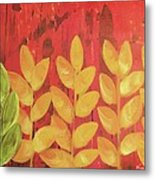 Tropical Foliage Metal Print