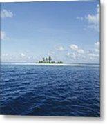 Tropical Island Metal Print