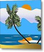 Tropical Outlook Metal Print