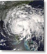 Tropical Storm Fay Metal Print