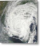 Tropical Storm Muifa Over China Metal Print