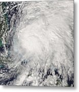 Tropical Storm Noel Over The Bahamas Metal Print