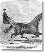 Trotting Horse, 1861 Metal Print