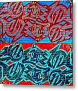 Trouble Tapestry 1 Metal Print