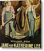 Troublemakers, Jane Lee, Katherine Lee Metal Print by Everett