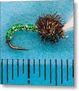 Trout Fly Suspender Buzzer Metal Print