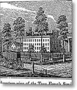 Troy Female Seminary, 1841 Metal Print