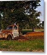 Truck And Tank 7 Metal Print
