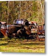 Truck Graveyard Metal Print
