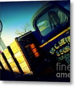 Truck On Route 66 Metal Print