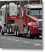 Truck Tow Metal Print by Joanne Kocwin