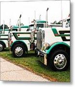 Trucks Metal Print