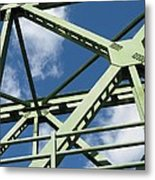 Truss Metal Print by Arlene Carmel