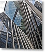 Trylon Towers Metal Print